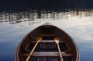 "A rowboat is a great example of the definition of ""boat"""
