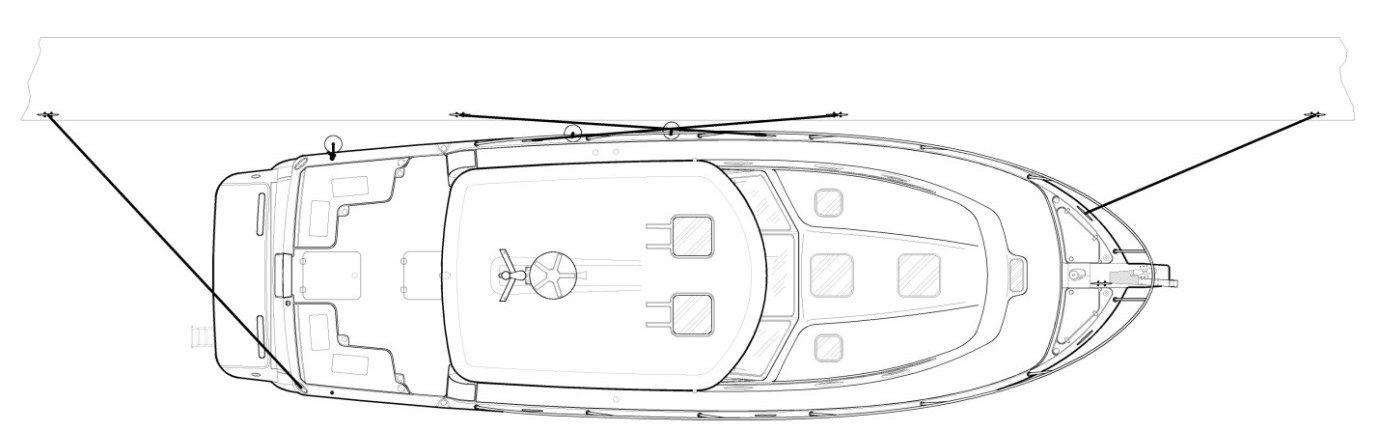 Dock Line Diagram