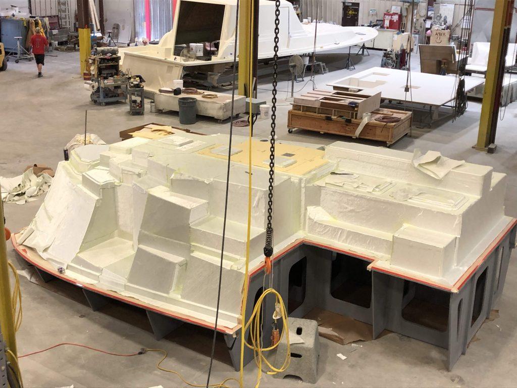 Internal Glass Unit (Seen Here Upside Down) Starboard Side
